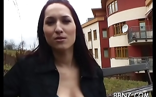 Breathtaking hotty is being tempted to have public sex