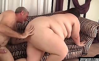 Amorous Plumper Juicy Jazmynne Blows a Thick Cock and Then Gets Fucked Bigtime