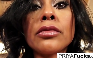 Priya Rai uses a Sybian to make herself cum really hard