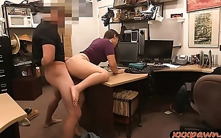 Couple bitches screwed by horny pawn man