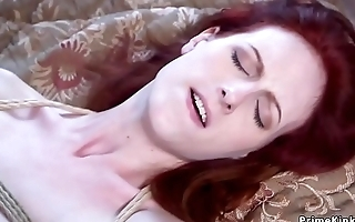 Redhead dominates step sister and fucks her bf