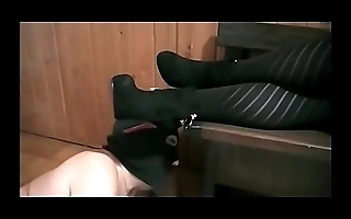 Totally Annihilated by Sabry'_s Black Tights (Fetish Obsession -Bdsm Milano)