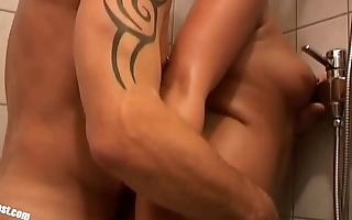 Teen Lena fuckes by older Guy with a big Cock