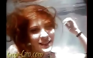 Sexy Redhead Ann Groped Underwater - More of her at Grope-Cam.com