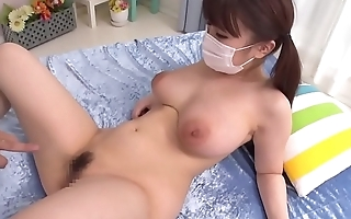 xFoxxx.com - Japanese lovely &quot_masked&quot_ girl with pleasure