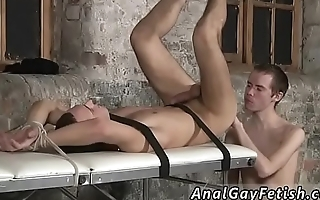 Bondage homo gay Two utterly draped studs in one video!