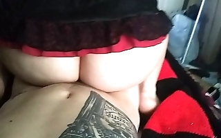 Sexy big ass wife reverse cowgirl
