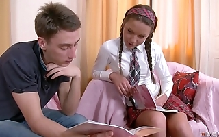 Anal Fuck is just the right thing for Horny Schoolgirl