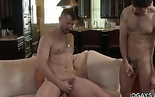 The 3 way kiss - Dean Monroe, Joe Parker, CJ Parker