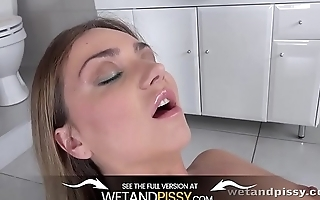 Wetandpissy - Puppy In Blue - Peeing Her Pants