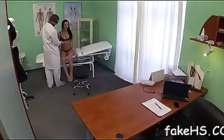Excited doctor loves when her vagina is fucked mercilessly