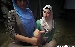 Muslim ass xxx Sneaking in the Base!