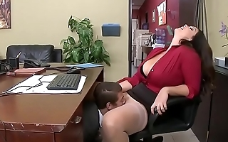 www.PornFuzzy.com - Alison Tyler has a little office fun