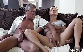 Skinny granny anal old and dad daddy father patron'_ crony'_s daughter