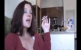 My friends hot mom jerks off my cock