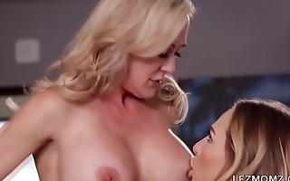 Brandi Love and her stepdaughter Carter Cruise