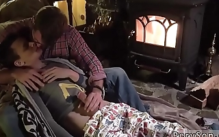 Hot boys ass in love gay Dad Family Cabin Retreat