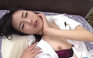 Ruri Okino full threesome porn play in hard modes  - More at javhd.net