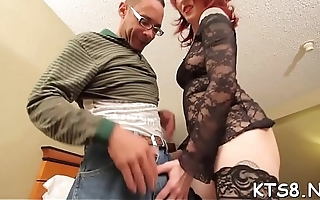Naughty tranny shows off riding skills gets backdoor destroyed